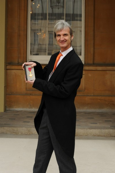 Andrew with OBE