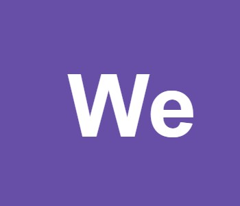 We…..........