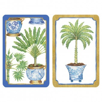 Caspari Cards - Potted Palms