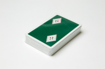 Green backed ARBC playing Cards