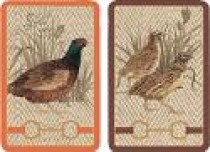 Caspari Playing Cards - Albermarle Hall Design