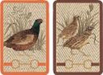 Caspari Playing Cards - Albermarle Hall Design