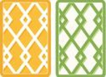 Caspari Playing Cards - Trellis Design