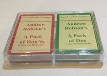 Arrow Packs for Dos and Dont's - Clubs and Diamonds