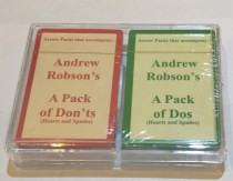 Arrow Packs for Dos and Dont's - Hearts and Spades